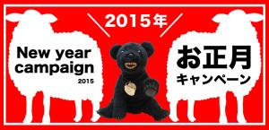 お正月キャンペーン2015